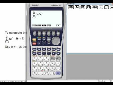 Introduction to sigma notation youtube.