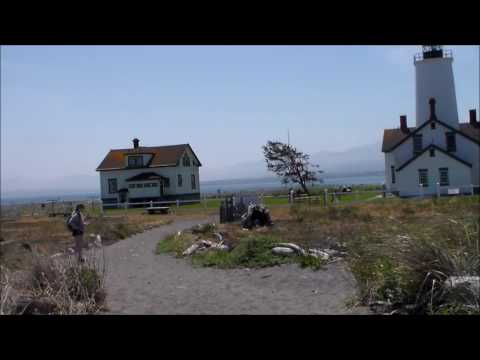 Dungeness Spit Hike Movie 5/29/2017