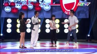 Cười Là Thua Tập 17 - (28/01/2015) - Thúy Nga và Khánh Nam đại chiến Thu Trang và Thanh Tùng