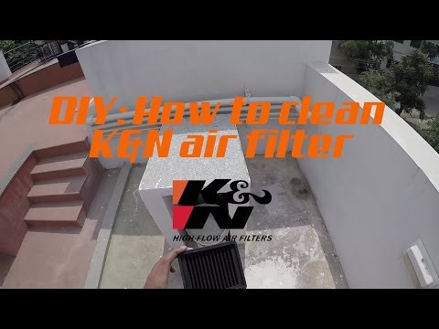 DIY | K&N AirFilter Cleaning | KT-1211 | KTM DUKE/RC