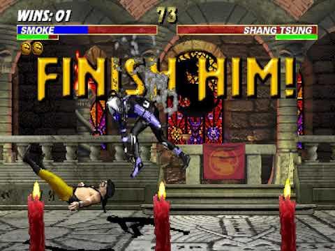 Ultimate Mortal Kombat 3 (Arcade), Longplay (Cyborg Smoke)