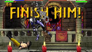 Ultimate Mortal Kombat 3 (Arcade), Longplay (Cyborg Smoke)