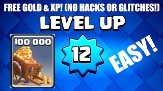 CLASH ROYALE | HOW TO GET FREE GOLD & XP! [LEGIT] | No Hacks/Glitches/Cheats!
