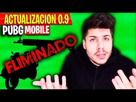 ¡ELIMINAN 2 COSAS DE LA ACTUALIZACION 0.9 en PUBG MOBILE! - MattsinLife