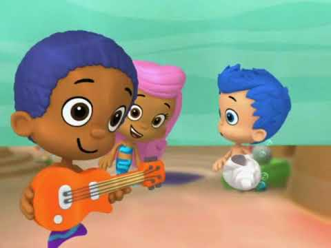 bubble guppies - we totally rock