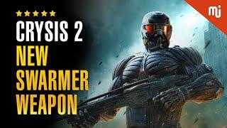 Crysis 2 PC Gameplay 1080p 60fps | New Swarmer Weapon - Semper Fi Or Die