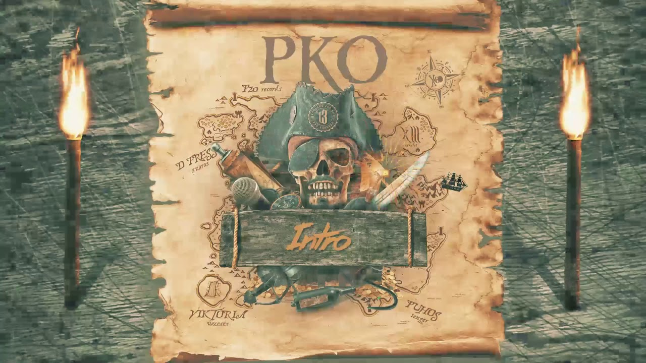 PKO - Intro (feat. Kool Kasko) / Fekete Péntek 2019 / | OFFICIAL AUDIO |