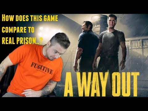 """A Way Out"" Prison Game VS Real Prison"