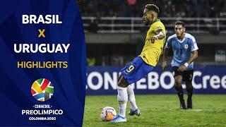 Brasil 3-1 Uruguay   Preolímpico 2020