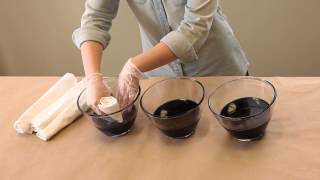 Cheap Party Supplies! How to Ombre-Color Napkins and Table Runners