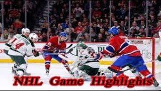 Minnesota Wild vs Montreal Canadiens - 11.12. NHL Highlights Season 2018-2019