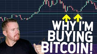 WHY I'M BUYING BITCOIN NOW...