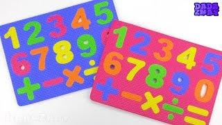 Учим цифры с малышами от 0 до 9| Считаем до 20|Видео для детей|Учимся считать до 20
