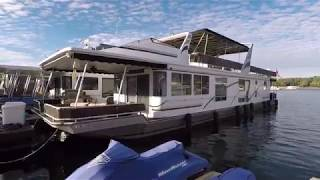 2001 Sunstar 16 x 78WB Houseboat For Sale on Norris Lake TN - SOLD!