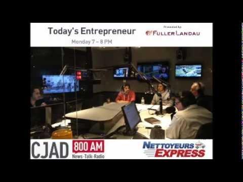 NE on Todays Entrepreneur @CJAD800 [Full Interview]