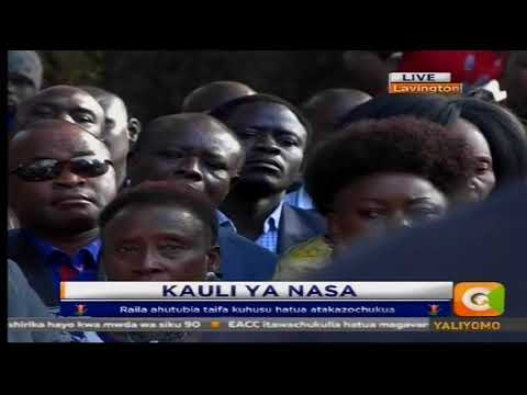 Download Youtube: Raila Odinga's long awaited speech on his move after election results