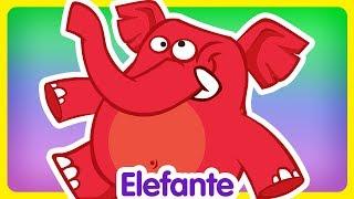 Elefante - Oficial - Canciones infantiles de la Gallina Pintadita