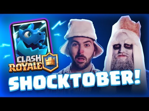 Clash Royale: Shocktober!  ELECTRO DRAGON GAMEPLAY! (TV Royale)