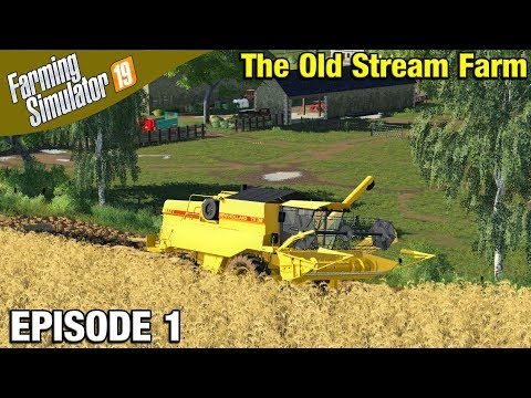 STARTING A NEW MAP Farming Simulator 19 Timelapse - The Old Stream Farm FS19 Episode 1 thumbnail