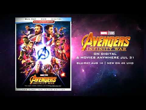 Marvel Studios Avengers: Infinity War Blu-ray Announcement Trailer