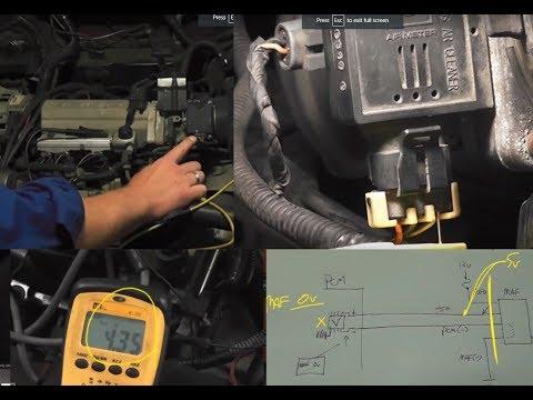 An SD Premium class on Testing Mass Air Flow Sensors