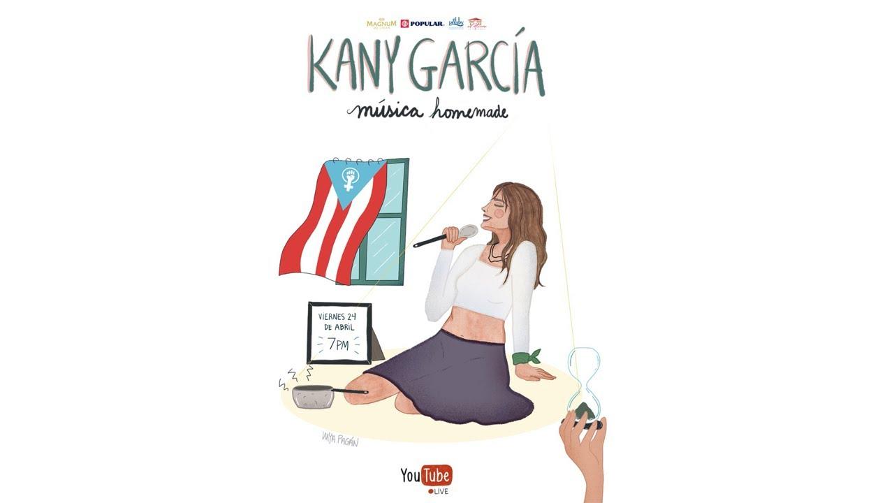 KANY GARCIA MÚSICA HOMEMADE VIERNES ESPECIAL