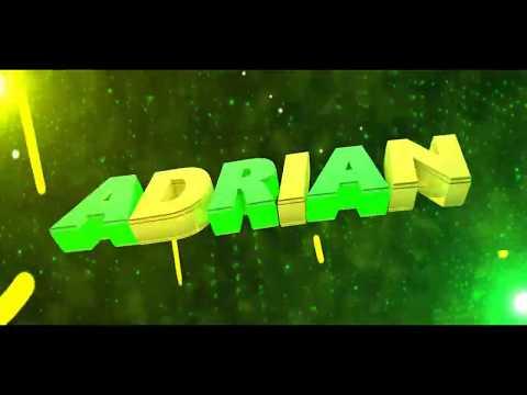 #5 - Intro ADRIAN (C4D e AE) ta meio bugado :/ -Itens Novos da Descrição-