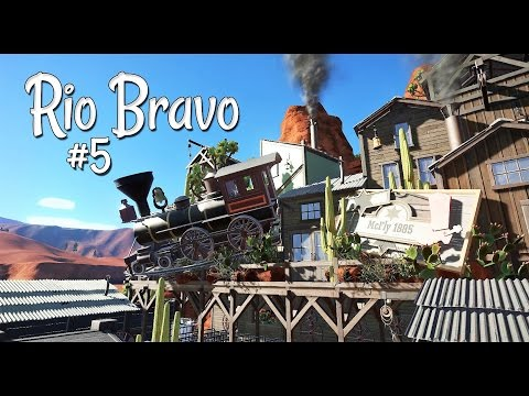 Planet Coaster (western): Rio Bravo - Ep. 5 - The Station - McFly 1885 - Part 5