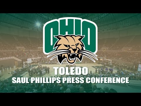 Ohio Men's Basketball 2017-2018: Saul Phillips Post Toledo