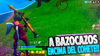 A BAZOCAZOS ON THE COHETE WITH THE NEW SKIN!! | FORTNITE: Battle Royale ? Rubinho vlc