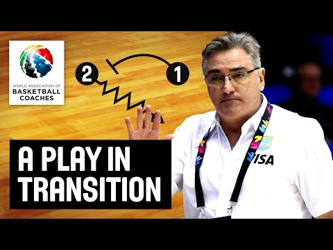 A Play in Transition - Julio Lamas - Basketball Fundamentals