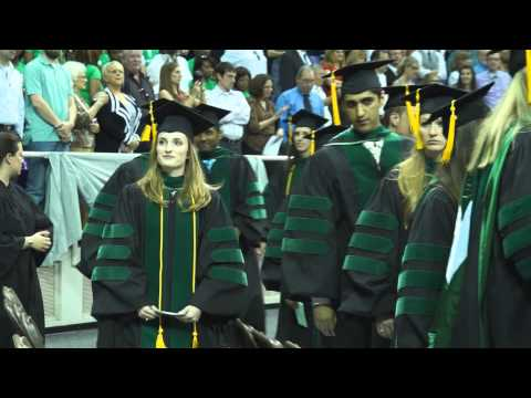 UNT Health Science Center Commencement 2013