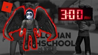DON'T PLAY ROBLOX AT 3AM || CREEPY STALKER IN ROBLOXIAN HIGHSCHOOL [PART 2]