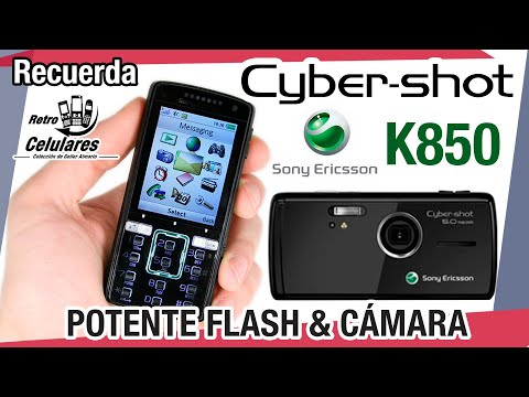 Sony Ericsson K850 - Colección celulares clásicos, antiguos o viejos OLD CELL PHONES RETROCELULARES