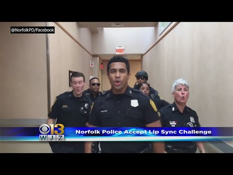 Virginia Officers Lip-Sync To