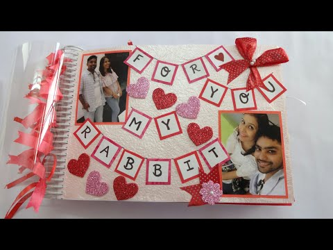 Handmade Scrapbook for Someone Special/Best Scrapbook Idea/Scrapbook Ideas for Anniversary,Valentine