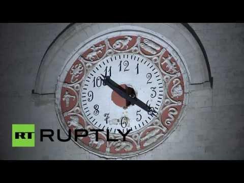 Полночь в Крыму наступила по московскому времени