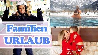 Das 1. mal auf Ski Familien Urlaub in Österreich