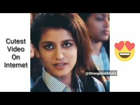 Cutest Video On Internet You'll See Today | Priya Prakash Varrier | Oru Adaa Love | StrangeHub Media