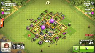 clash of clans(coc) best attack log strategy for loot
