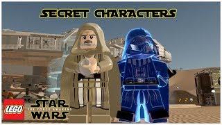 LEGO Star Wars: The Force Awakens - ALL SECRET CHARACTERS (Part 3) - NPC