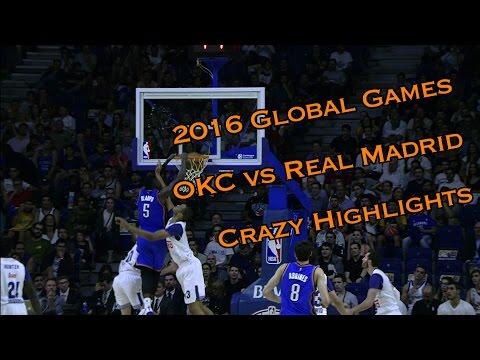Real Madrid & OKC Trade Crazy Baskets In OT Thriller