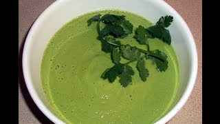 Raw Food Recipe: Cream Of Cucumber Soup