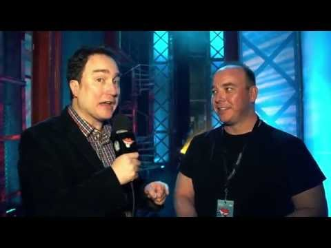 Halifax Comedy Fest: Pete Zedlacher backstage with Mark Critch