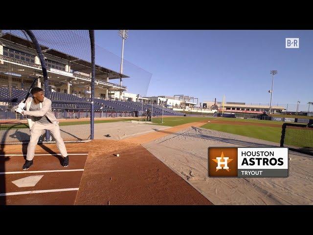 "Saints WR Michael Thomas ""Tries Out"" For Astros"