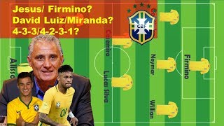Brazil 2018 world cup Lineup|Brazil squad for 2018 world cup in Russia