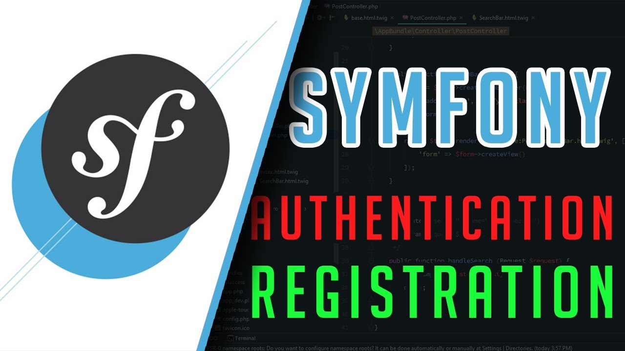 Symfony 3: Authentication (Registration page) Tutorial
