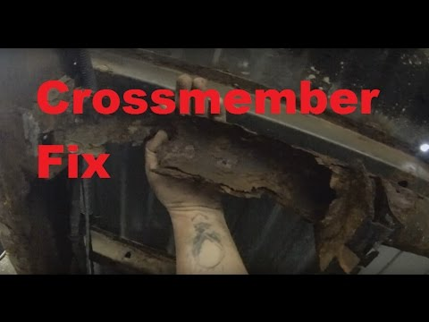 Chevy Crossmember Rebuild