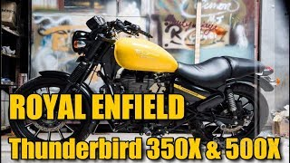 2018 Royal Enfield Thunderbird 350X & 500X - Features, Specs, Mileage, Price, Top Speed, Launch Date