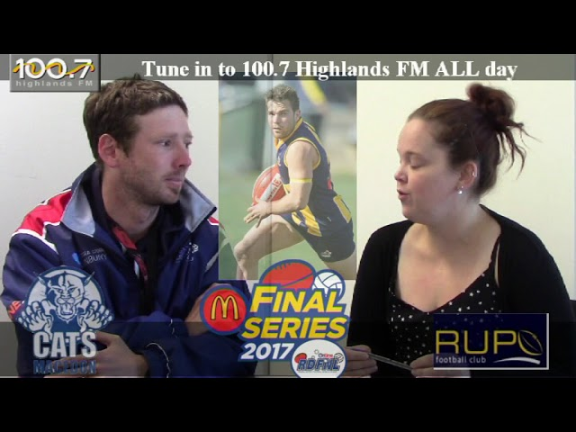 RDFNL Footy Show Week One Previews - Macedon v Rupertswood